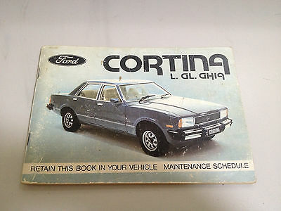 Te - Tf Cortina Glovebox Ford Manual