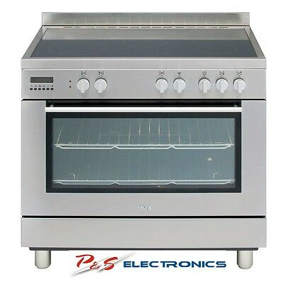 Brand New Euro EE900GSXS  90cm Stainless Steel Freestanding Electric Oven