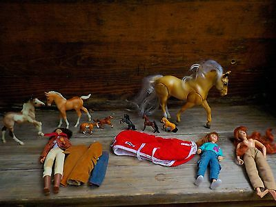 Breyer Horse Lot Mixed Horse And Doll 1 Vintage Doll