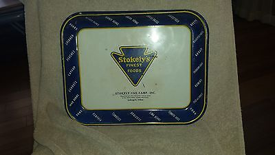 """Stokely's Finest Foods serving Tray 12""""  x  10.5"""""""