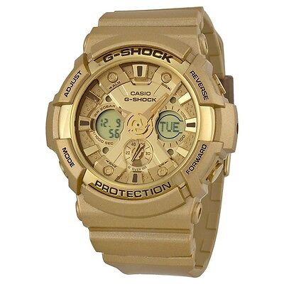 Casio G-Shock Gold Dial Gold Resin Multifunction Quartz Men's Watch GA200GD-9A