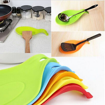 Mat Kitchen Tools Silicone Mat Insulation Placemat Heat Resistant Put A Spoon
