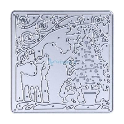 Christmas Cutting Dies Stencil For DIY Scrapbook Album Paper Card Craft Gift