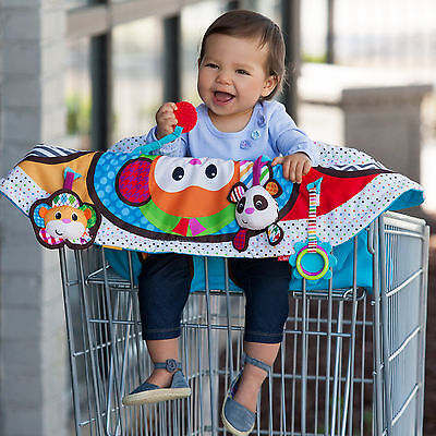 NEW Infantino Play and Away Cart Cover Mat,High Chair Cover & Play Mat w/ Toys