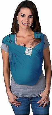 NEW Baby K'tan Active Baby Carrier Wrap Sling, XL Ocean Blue