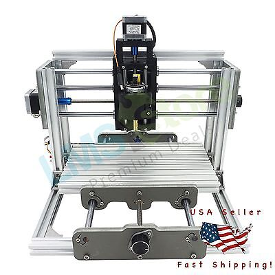 Mini DIY CNC 2417 Mill Router Kit USB Engraver Wood Metal PCB Milling Machine
