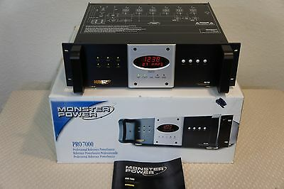 Monster Power Pro 7000 Power Conditioner In Original Box And Packaging