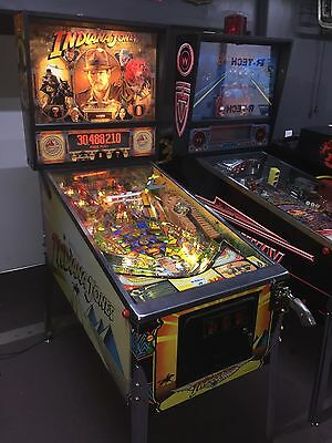 Indiana Jones Pinball Machine Williams LEDS Coin Op Arcade