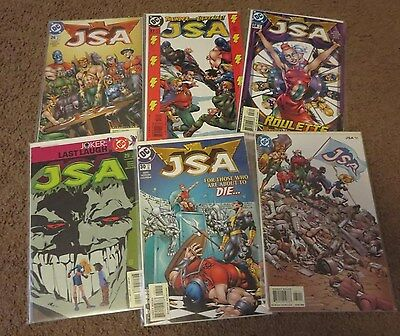 Jsa (Dc Comics 2003) #26-55! All Issues Are Nm! 4 Complete Story Lines!