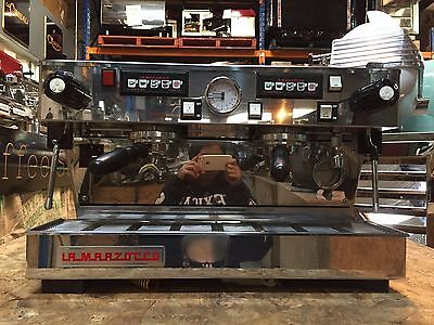 Coffee Machine Espresso 2 Group La Marzocco Linea Classic Used No Mazzer Grinder