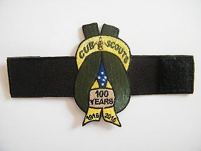 100 years Centenary of Cub Scouts Official Woggle, Australian Scout badge design