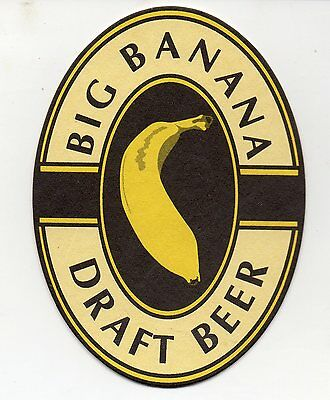 Big Banana Australian Beer Coaster #2