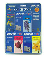 Brand NEW Brother Inkjet Cartridge for DCP150C/MFC235/MFC260C cyan,magenta,yello