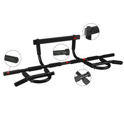 NEW Door Gym Bar Chin Up Pull Up Bars Sit Up Dips Exercise Home Weights Fitness