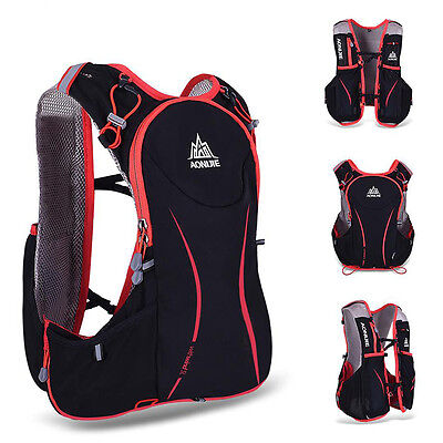 AONIJIE 5L Running Cycling Vest Backpack Sports Camping Hydration Water Bag Pack