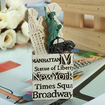 3D Resin Fridge Magnet The Statue of Liberty USA New York Tourist Souvenir Gift