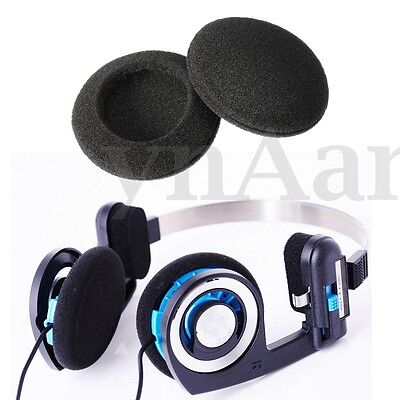 6PCS Earphone Black Ear Pad Sponge Foam Replacement Cushion for Koss Porta Pro