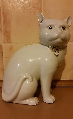 vintage collectible Chinese Japanese cat porcelain China makers mark on base