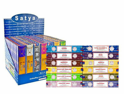 Satya Nag Champa Incense Sticks With Various Option Each Pack Contain 15G