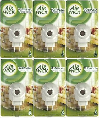 Airwick Electric Plug-In Plugs (6 Pack) *2 Pin EU Plugs* Air Wick Diffusers