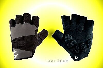 * Cannondale DISCOLORED Black Short Large Finger Gloves Mountain Bike Cycling M