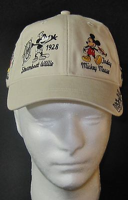 WALT DISNEY Cap/ HAT History of MICKEY MOUSE VINTAGE, AUTHENTIC AND *NEW*