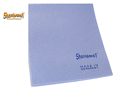 ShamWow Polisher Accessories Towel Chamois and Sponge All In One