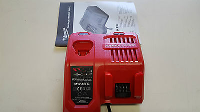 Milwaukee M12-18 Fc 12V+18V Li Ion Rapid Battery Charger New Tool