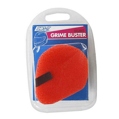 Shift-It Motorcycle Motorbike Helmet Grime Buster Sponge Essential Helmet Care