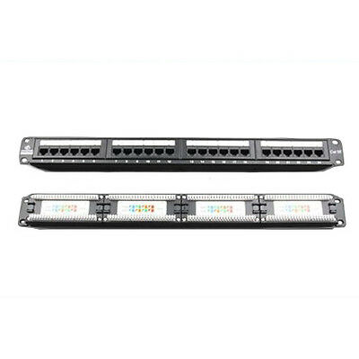 Brand NEW Linkbasic 24 Port Cat5E Patch Panel Rack Mount