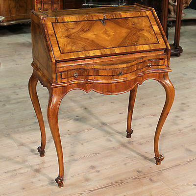 Fore wood walnut rosewood antique style 900 XX secretaire desk