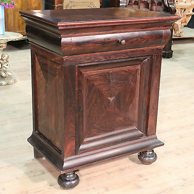 SPECIAL CUPBOARD CABINET A'PANEL ROSEWOOD TO BE RESTORED HOLLAND '800 H 110cm