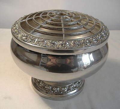 Ianthe - Silver Plated Rose Bowl
