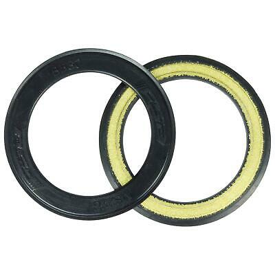 FSA BB30 Bicycle  Bearing Cover Rubber Coated Black x2 MS223