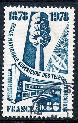 Stamp / Timbre France Oblitere N° 1984 Telecommunication