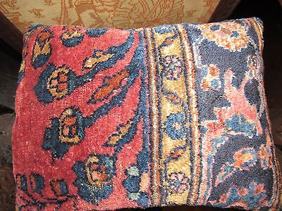 Antique Handwoven Caucasian Russian  Kilim Rug  Pillow