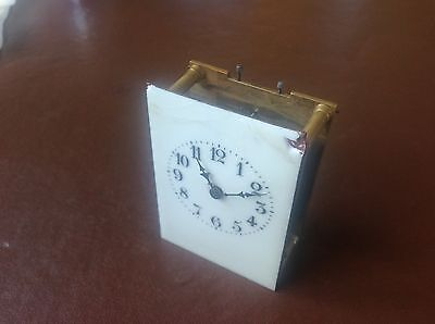 Antique French Carriage Clock Movement For Spares