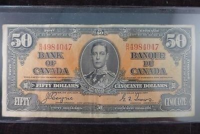 1937 $50.00 Note Bank of Canada