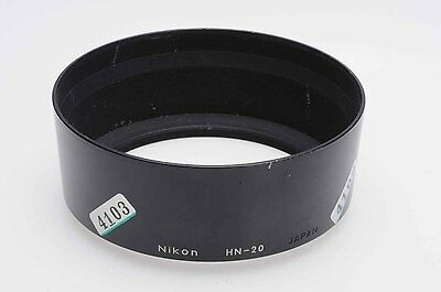 Nikon HN-20 Lens Hood Shade (72mm Screw-On) for 85mm f1.4 AI-S              #103