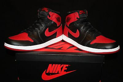"NEW 2013 Jordan Retro 1 ""Bred"" ""Banned"" size Men's 14 555088 023"