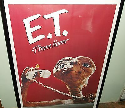 Vintage E T Extra Terrestrial  Poster Scene #4 1982 Phone Home