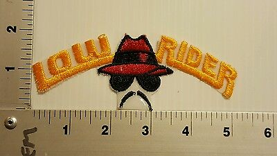 Low Rider Vintage Embroidered Patch