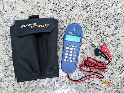 Fluke Networks Telephone Test Set TS25D with ABN Cord & Pouch