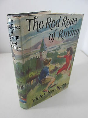 Violet Needham - The Red Rose of Ruvina, 1957, 1st with jacket