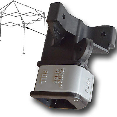 Quik Shade Commercial LEG SLIDER Canopy Gazebo Push Button Connector Parts