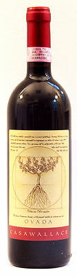 1 Bottle Dolcetto D'ovada Doc  2007 Casa Wallace