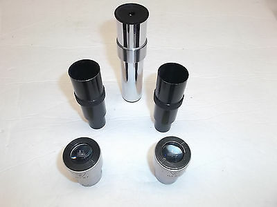 One Lot of Vintage Microscope Eyepieces