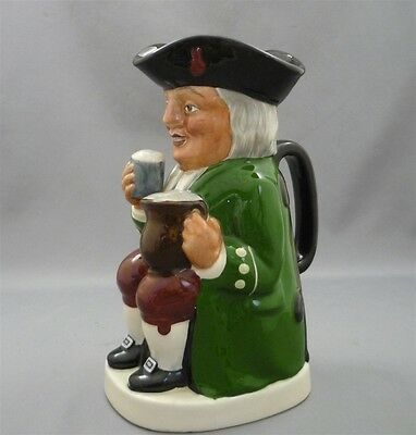 """Musical """"THERE IS A TAVERN IN THE TOWN"""" Vintage Fielding's England Figural Jug"""