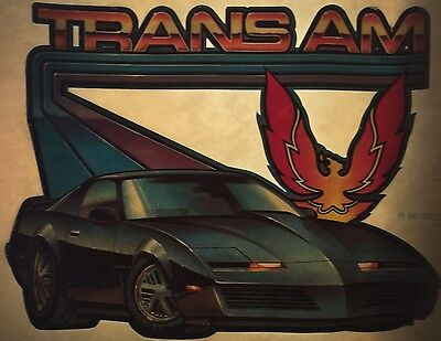 Vintage 70s Pontiac Trans Am Iron-On Transfer American Muscle Icon RARE!