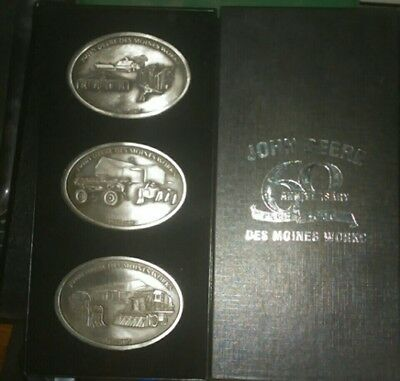 John Deere Belt buckle set
